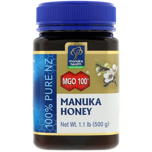 Manuka Health, Manuka Honey, MGO 100+, 1.1 lb (500 g) Review