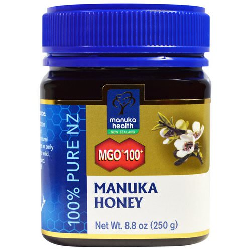 Manuka Health, Manuka Honey, MGO 100+, 8.8 oz (250 g) Review