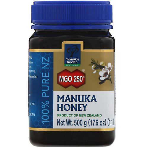 Manuka Health, Manuka Honey, MGO 250+, 1.1 lb (500 g) Review