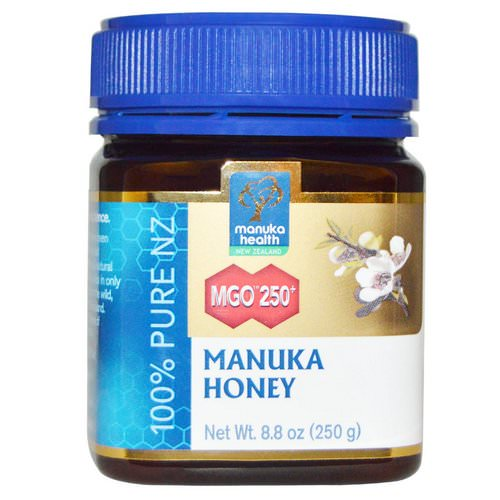 Manuka Health, Manuka Honey, MGO 250+, 8.8 oz (250 g) Review