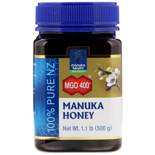 Manuka Health, Manuka Honey, MGO 400+, 1.1 lb (500 g) Review