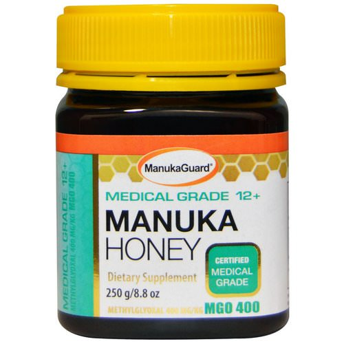 ManukaGuard, Manuka Honey, Medical Grade 12+, 8.8 oz (250 g) Review