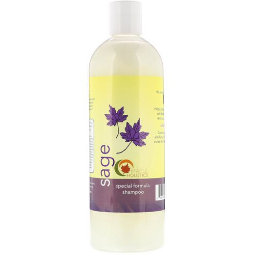 Maple Holistics, Sage, Special Formula Shampoo, 16 oz (473 ml) Review