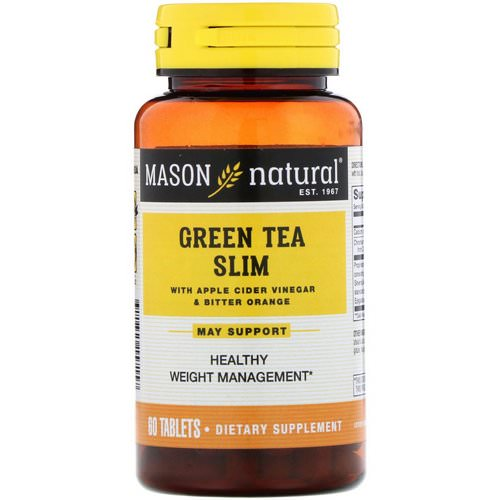 Mason Natural, Green Tea Slim, 60 Tablets Review