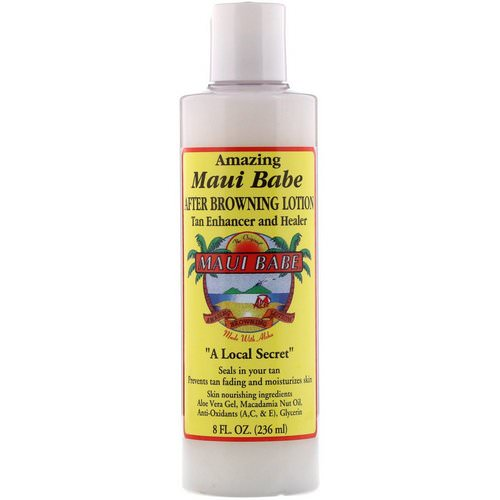 Maui Babe, After Browning Lotion, Tan Enhancer and Healer, 8 fl oz (236 ml) Review