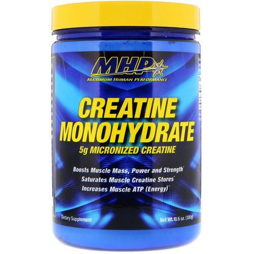 MHP, Creatine Monohydrate, 10.6 oz (300 g) Review