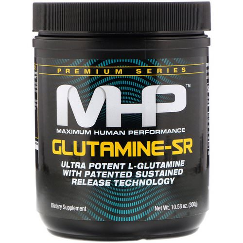 MHP, Glutamine-SR, 10.58 oz (300 g) Review