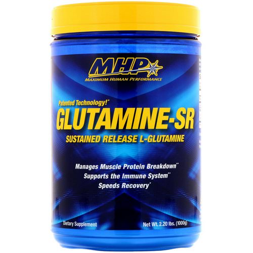 MHP, Glutamine-SR, 2.20 lbs (1000 g) Review