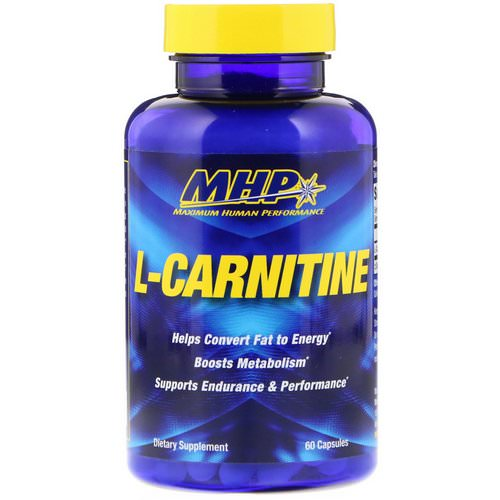 MHP, L-Carnitine, 60 Capsules Review