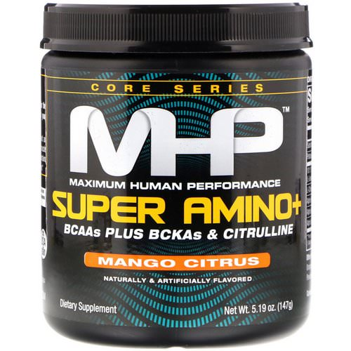 MHP, Super Amino+, Mango Citrus, 5.19 oz (147 g) Review