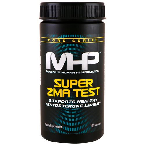 MHP, Super ZMA Test, 120 Capsules Review