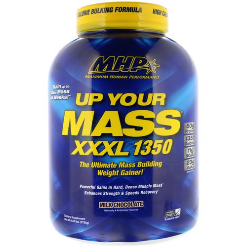 MHP, Up Your Mass, XXXL 1350, Milk Chocolate, 6.12 lbs (2780 g) Review