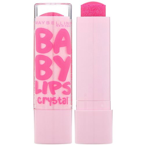 Maybelline, Baby Lips Crystal, Moisturizing Lip Balm, 140 Pink Quartz, 0.15 oz (4.4 g) Review