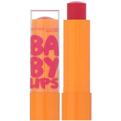 Maybelline, Baby Lips, Moisturizing Lip Balm, Cherry Me, 0.15 oz (4.4 g) Review