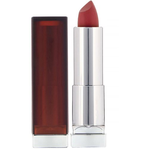 Maybelline, Color Sensational, Creamy Matte Lipstick, 660 Touch of Spice, 0.15 oz (4.2 g) Review