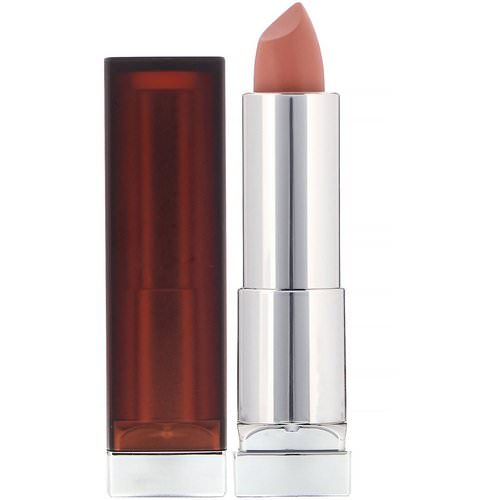 Maybelline, Color Sensational, Creamy Matte Lipstick, Daringly Nude, 0.15 oz (4.2 g) Review