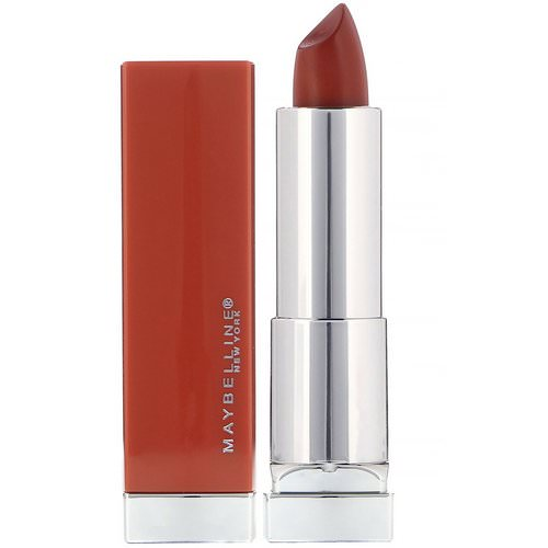 Maybelline, Color Sensational, Made For All Lipstick, 370 Spice for Me, 0.15 oz (4.2 g) Review