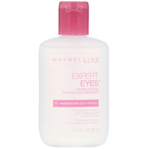 Maybelline, Expert Eyes, Moisturizing Eye Makeup Remover, 2.3 fl oz (68 ml) Review