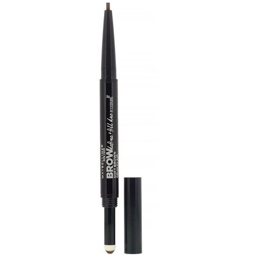 Maybelline, Eye Studio, Brow Define + Fill Duo, 255 Soft Brown, 0.017 oz (500 mg) Review