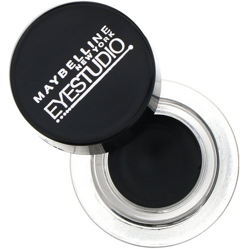 Maybelline, Eye Studio, Lasting Drama, Gel Eyeliner, 950 Blackest Black, 0.106 oz (3 g) Review