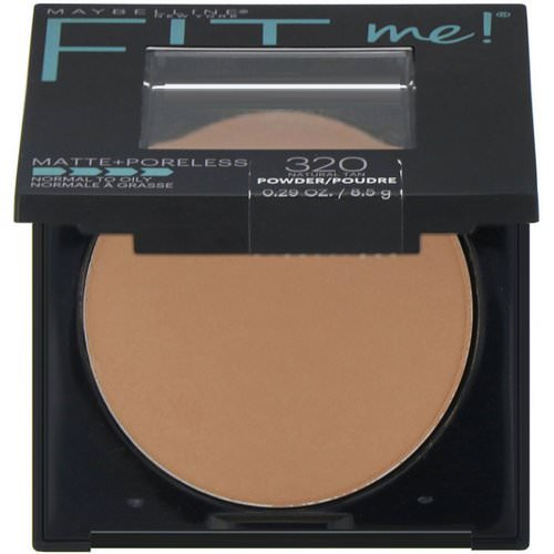 Maybelline, Fit Me, Matte + Poreless Powder, 320 Natural Tan, 0.29 oz (8.5 g) Review