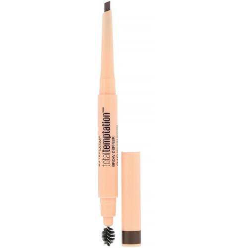 Maybelline, Total Temptation, Brow Definer, 310 Medium Brown, 0.005 oz (150 mg) Review