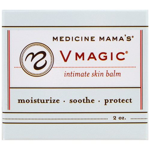 Medicine Mama's, Vmagic, Intimate Skin Balm, 2 oz Review