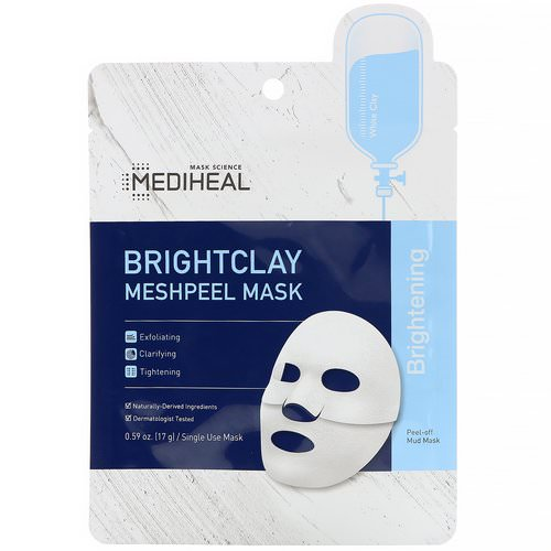 Mediheal, Brightclay, Meshpeel Mask, 1 Sheet, 0.59 oz. (17 g) Review