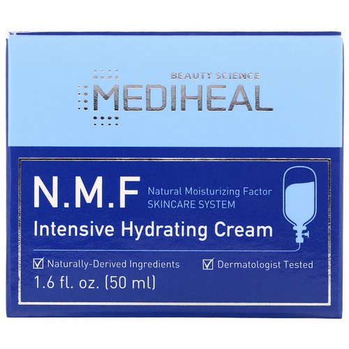 Mediheal, N.M.F Intensive Hydrating Cream, 1.6 fl oz (50 ml) Review