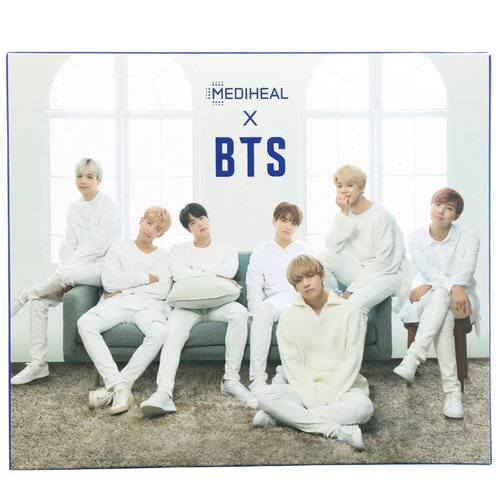 Mediheal, x BTS, Hydrating Care Special Set, 10 Sheets Review
