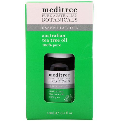 Meditree, Pure Australian Botanicals, 100% Pure Australian Tea Tree Oil, 0.5 fl oz (15 ml) Review