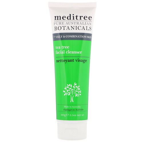 Meditree, Pure Australian Botanicals, Tea Tree Facial Cleanser, For Oily & Combination Skin, 3.5 oz (100 g) Review