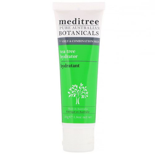 Meditree, Pure Australian Botanicals, Tea Tree Hydrator, For Oily & Combination Skin, 1.8 oz (50 g) Review
