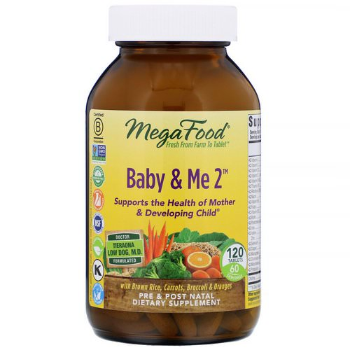 MegaFood, Baby & Me 2, 120 Tablets Review