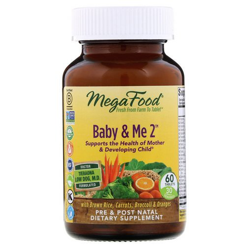 MegaFood, Baby & Me 2, 60 Tablets Review