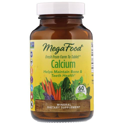 MegaFood, Calcium, 60 Tablets Review