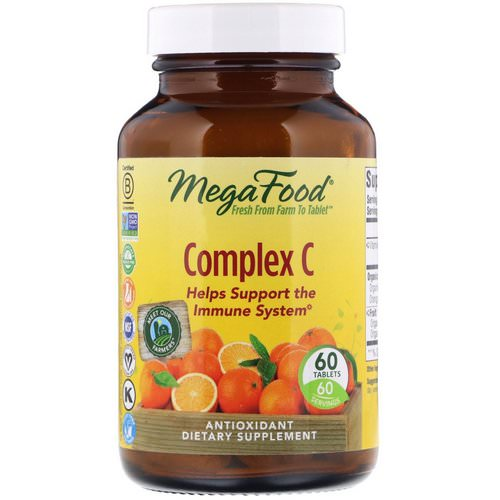 MegaFood, Complex C, 60 Tablets Review