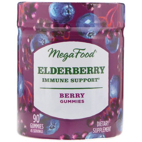 MegaFood, Elderberry, Immune Support, Berry, 90 Gummies Review