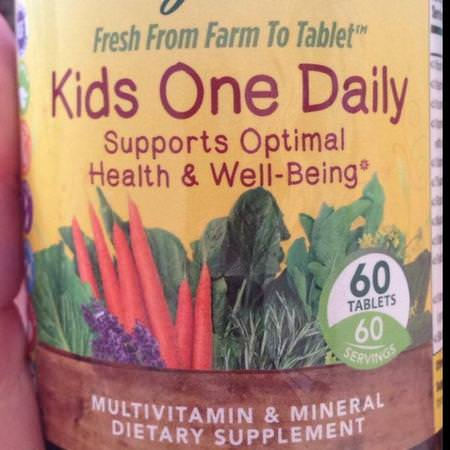 MegaFood, Kids One Daily, 30 Tablets Review