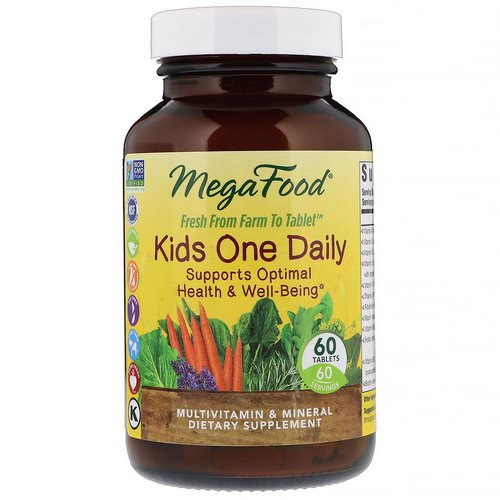 MegaFood, Kids One Daily, 60 Tablets Review
