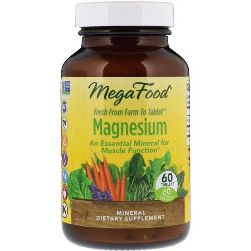 MegaFood, Magnesium, 60 Tablets Review