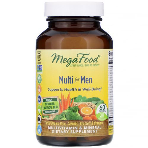 MegaFood, Multi for Men, 60 Tablets Review