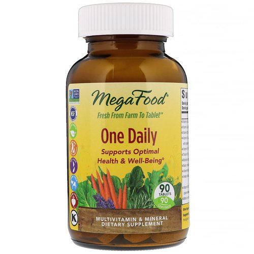 MegaFood, One Daily, 90 Tablets Review