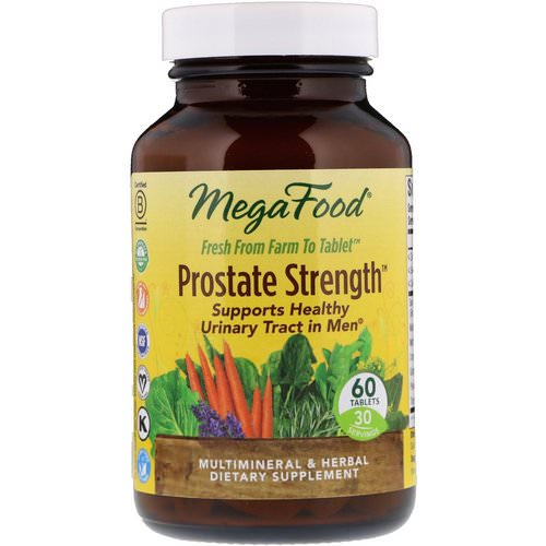 MegaFood, Prostate Strength, 60 Tablets Review
