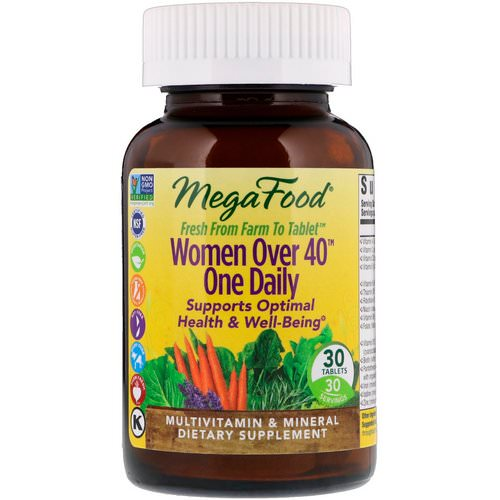 MegaFood, Women Over 40 One Daily, 30 Tablets Review