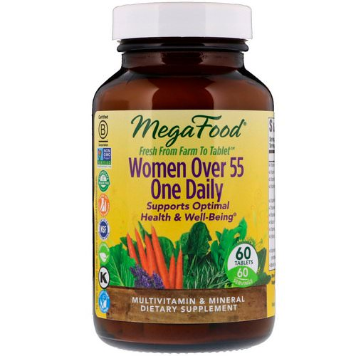 MegaFood, Women Over 55 One Daily, 60 Tablets Review
