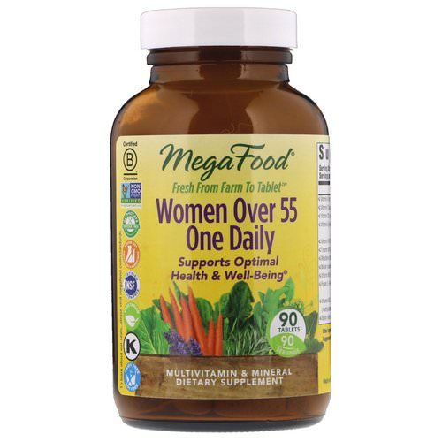 MegaFood, Women Over 55 One Daily, 90 Tablets Review