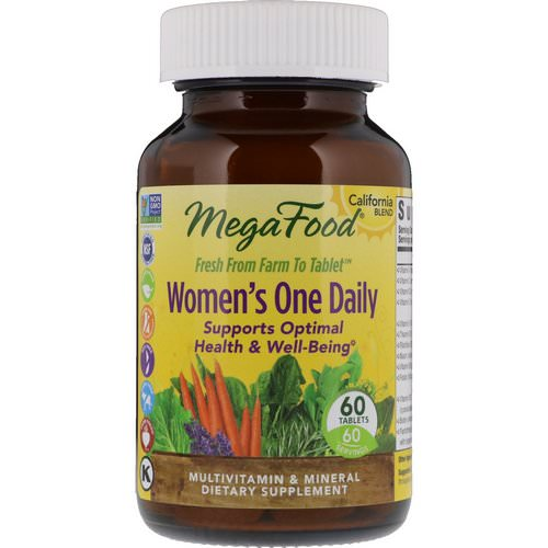 MegaFood, Women's One Daily, 60 Tablets Review