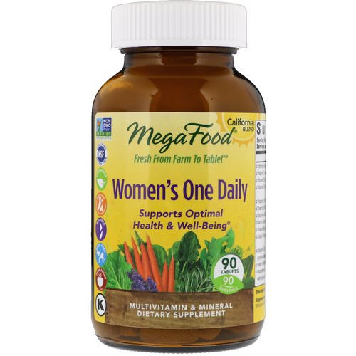 MegaFood, Women's One Daily, 90 Tablets Review