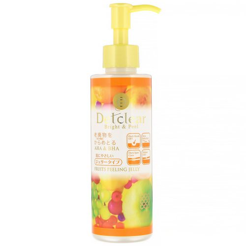 Meishoku, Detclear, Bright & Peel, Fruit Peeling Jelly, Mixed Fruit, 6.1 fl oz (180 ml) Review